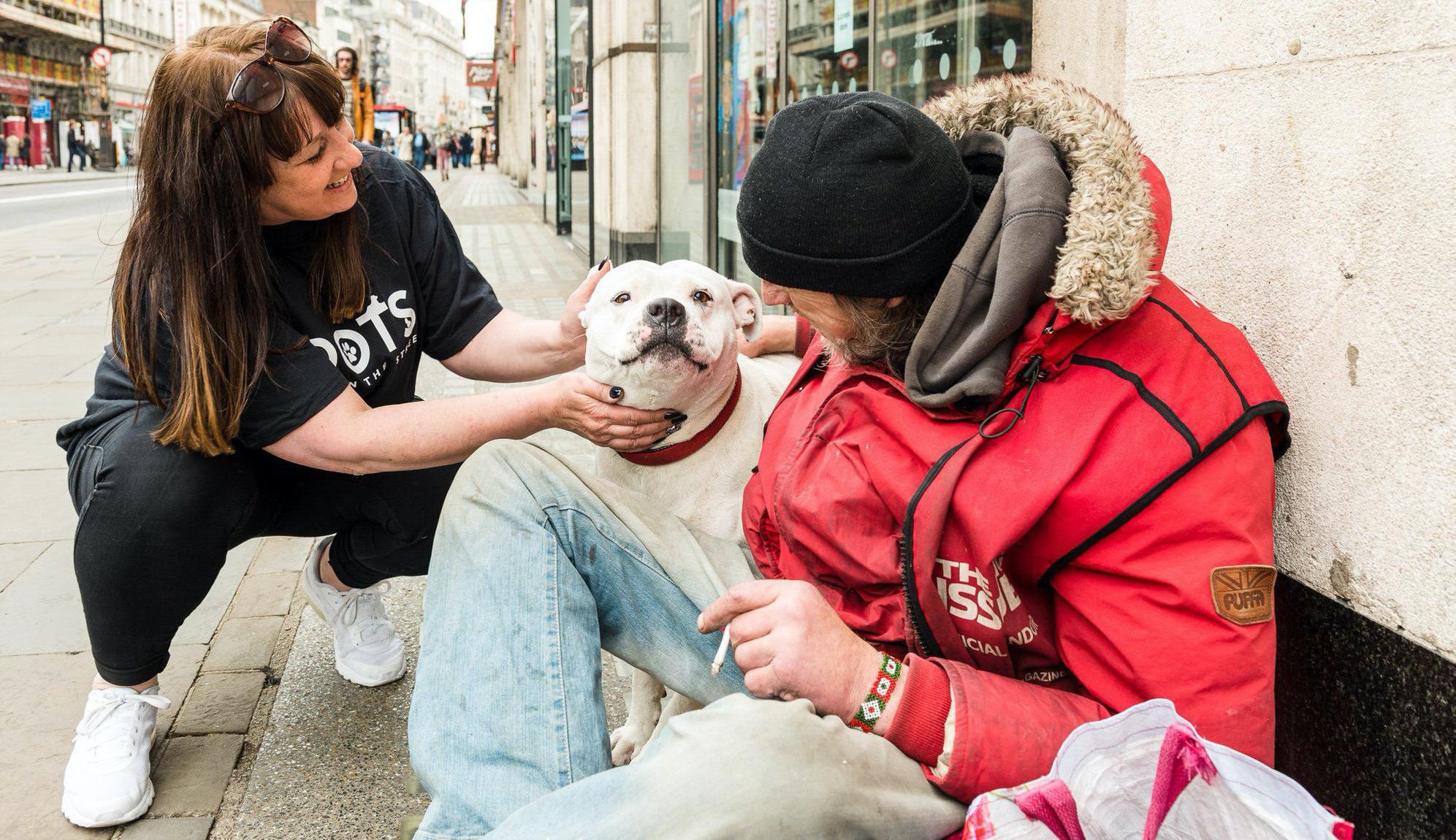 Rescuing dogs in London, UK