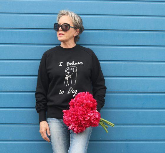 Praying Dog Sweatshirt