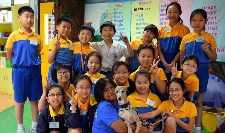 Teaching children in China & Hong Kong to love and respect dogs