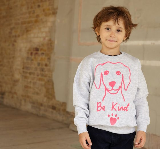 Kids: Be Kind Sweatshirt