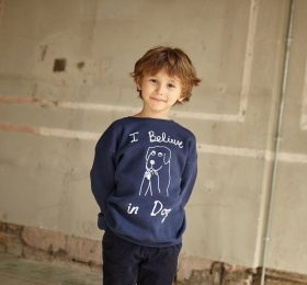 Kids: Praying Dog Sweatshirt