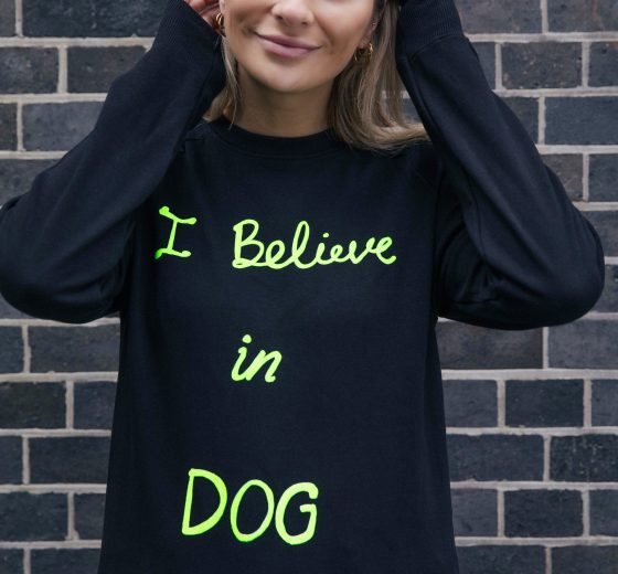 I Believe in Dog Sweatshirt