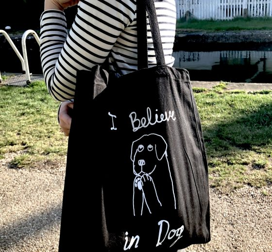 I believe in dog – Tote Bag