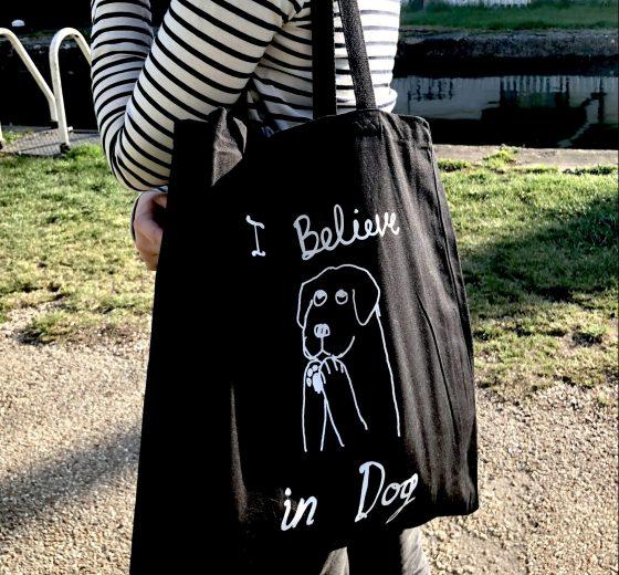 I believe in dog – Tote Bag